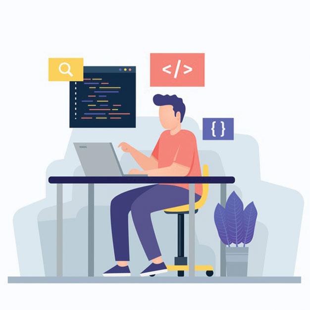 مرحله کدنویسی طراحی سایت