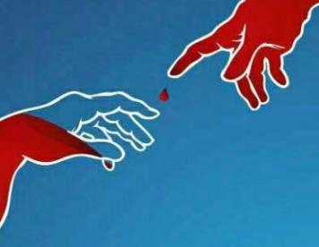 تبلیغات خلاق : اهدای خون , اهدای زندگی