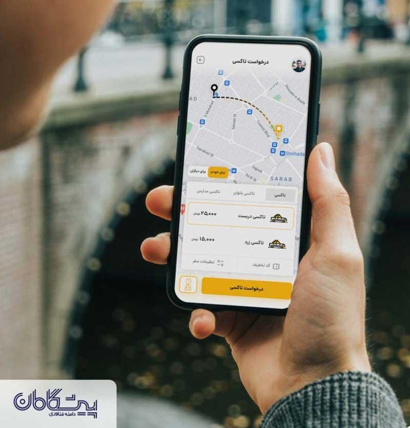 راه اندازی تاکسی آنلاین